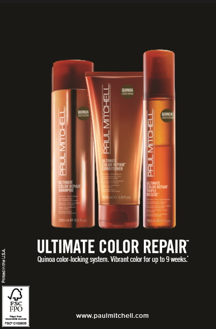 Ultimae Color Repair by Paul Mitchell at Studio A